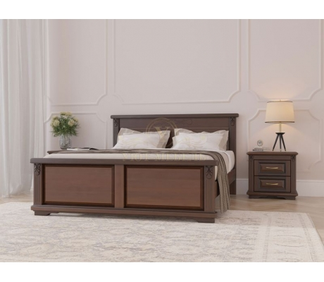 Кровать из массива Палермо