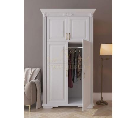 Шкаф 2 створчатый из массива Палермо дверцы сверху