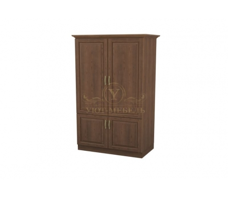 Шкаф 2 створчатый из массива Эдем дверцы внизу