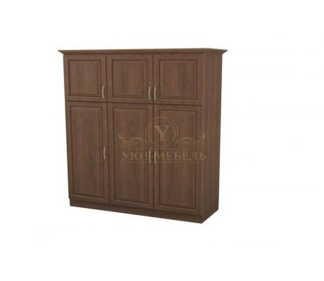 Шкаф 3 створчатый из массива Эдем дверцы вверху