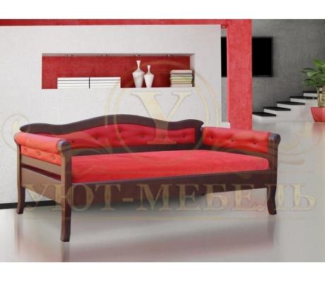 Деревянная односпальная кровать Капри