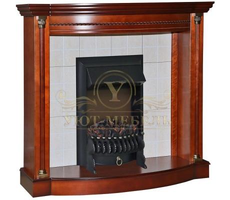 Портал для камина из дерева Валенсия