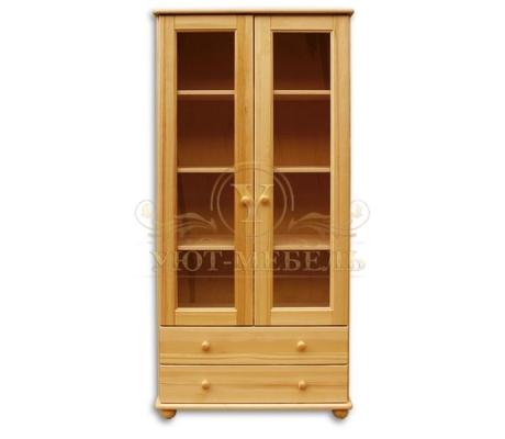 Книжный шкаф из массива Витязь 101