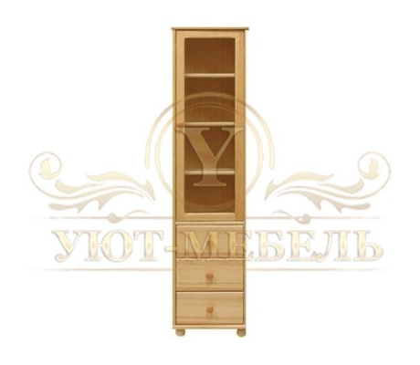 Книжный шкаф из массива Витязь 102