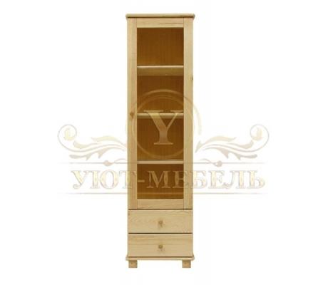 Книжный шкаф из массива Витязь 104