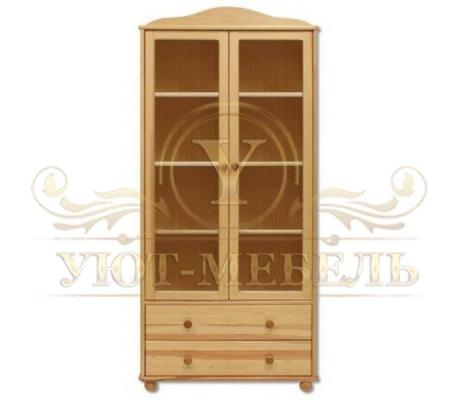 Книжный шкаф из массива Витязь 105