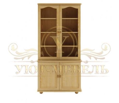 Книжный шкаф из массива Витязь 106