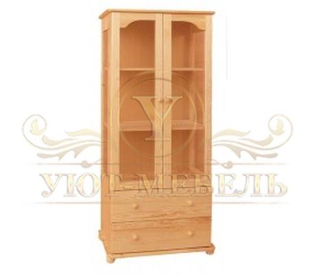 Книжный шкаф из массива Витязь 107