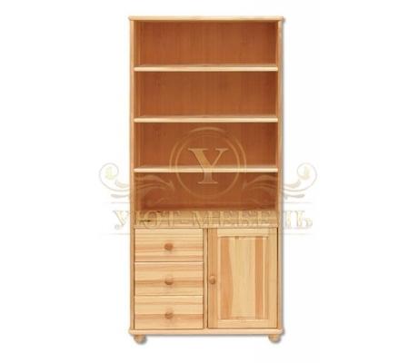 Книжный шкаф из массива Витязь 109