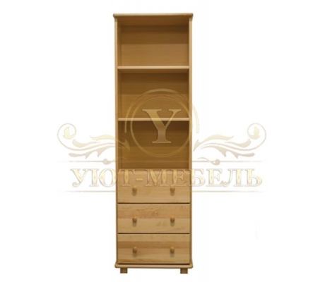 Книжный шкаф из массива Витязь 111