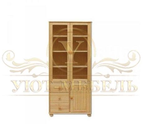 Книжный шкаф из массива Витязь 120