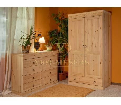 Комод и шкаф из дерева Скандинавия