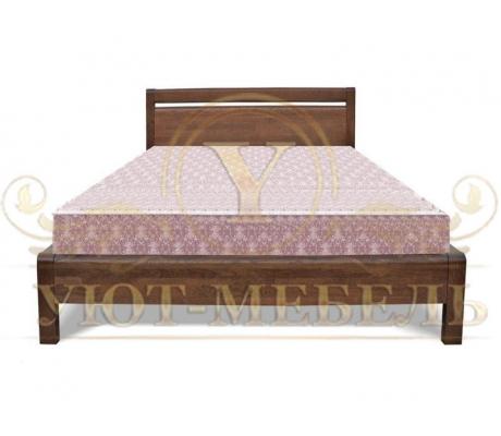 Деревянная односпальная кровать Камия