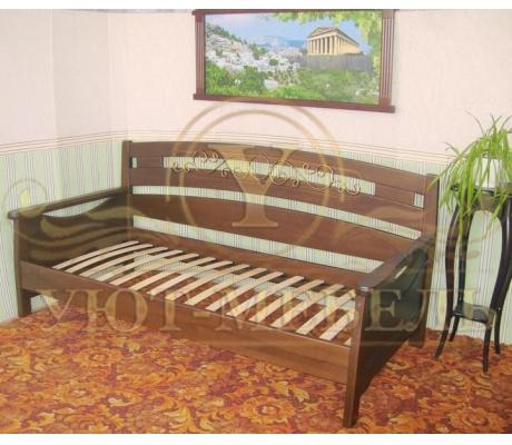 Купить полутороспальную кровать Луи с ковкой