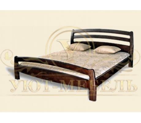 Деревянная односпальная кровать Ника