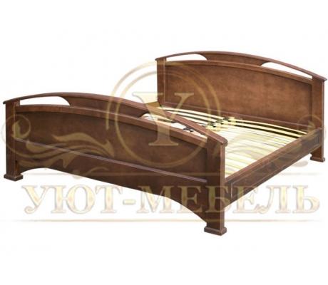Деревянная односпальная кровать Омега