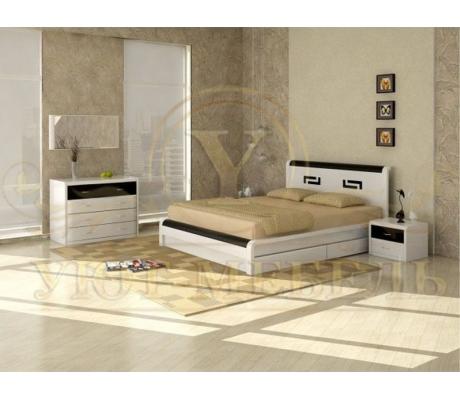 Деревянная односпальная кровать Арикама 2