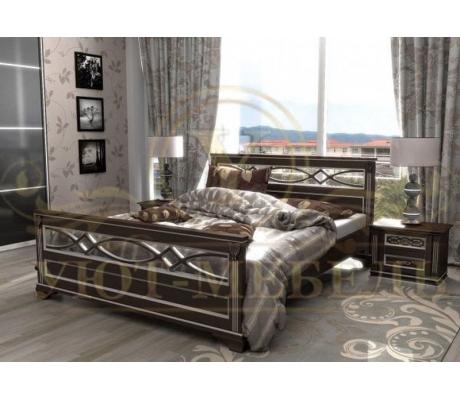 Купить полутороспальную кровать Лирона