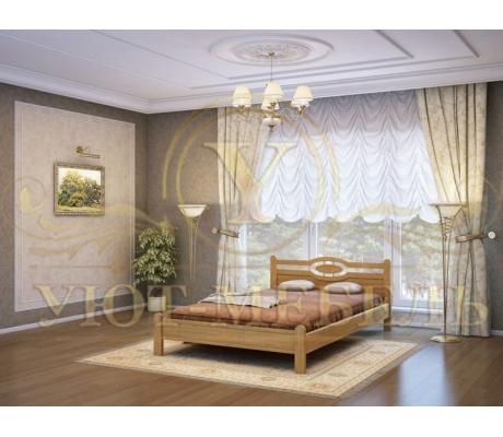 Кровать с ящиками из массива Мелиса