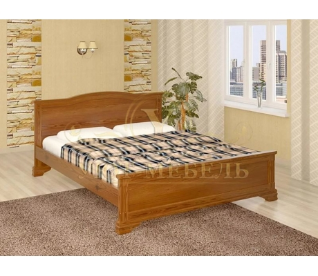 Деревянная односпальная кровать Октава