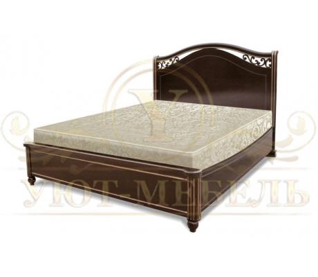 Деревянная двуспальная кровать из массива Портленд тахта