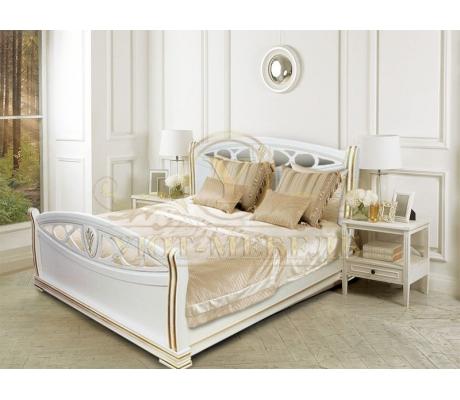 Деревянная односпальная кровать Сиена
