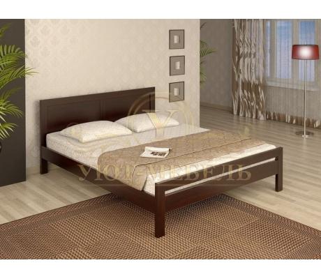 Деревянная односпальная кровать София