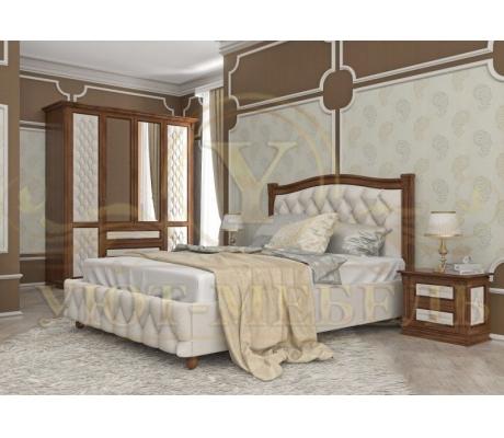 Купить полутороспальную кровать Соната 2 тахта с мягкой вставкой