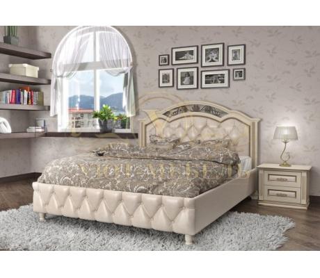 Кровать с подъемным механизмом из массива Венеция тахта 2