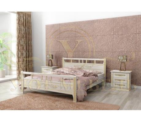 Деревянная односпальная кровать Веста