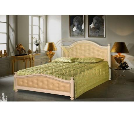 Деревянная односпальная кровать Виллия