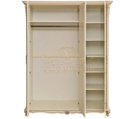 Шкаф из массива 3 створчатый Алези