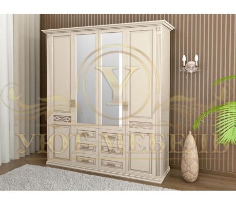Шкаф из массива 4 створчатый Верона