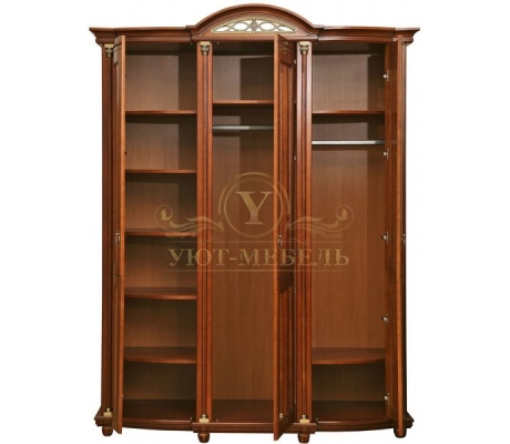Шкаф из массива 3 створчатый Валенсия Люкс