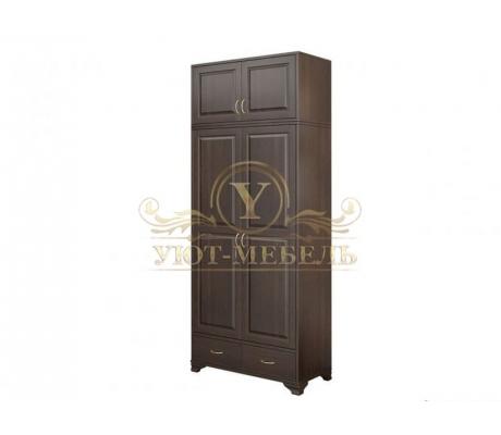 Шкаф из массива 2 створчатый Витязь 126