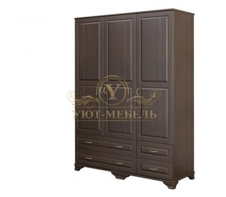 Шкаф из массива 3 створчатый Витязь 118