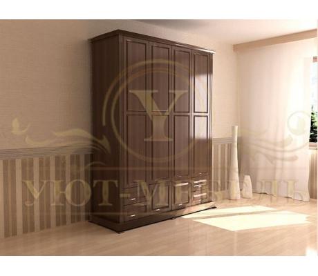 Шкаф из массива 4 створчатый Фиджи 2