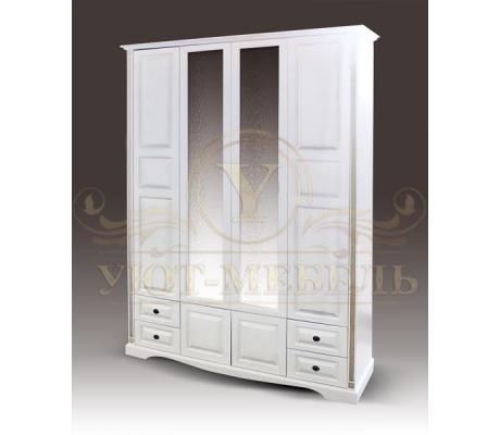 Шкаф из массива 4 створчатый Милена