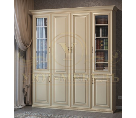 Шкаф из массива 4 створчатый Ренаус