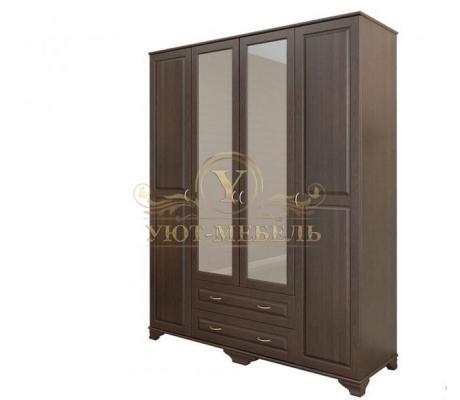 Шкаф из массива 4 створчатый Витязь 119