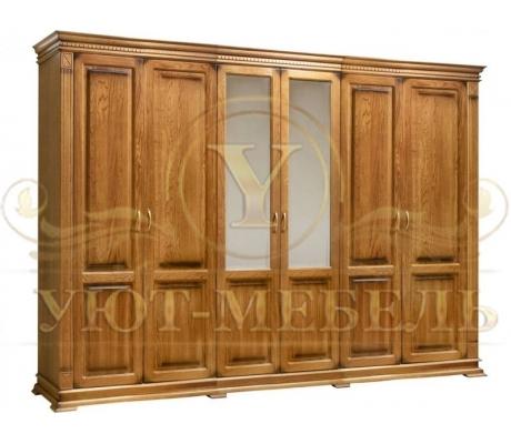 Шкаф из массива 6 створчатый Верди 50