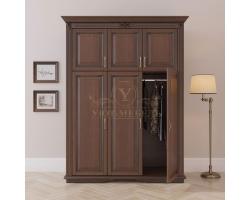 Шкаф 3 створчатый из массива Палермо дверцы сверху