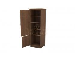 Шкаф 1 створчатый из массива Эдем дверца внизу