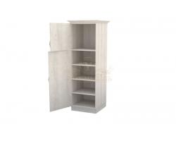 Шкаф 1 створчатый из массива Эдем дверца вверху