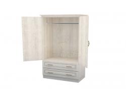 Шкаф 2 створчатый из массива Эдем с ящиками