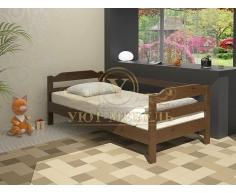 Детская кровать из массива дерева Малютка
