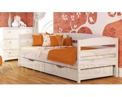 Детская кровать из дуба Альбина