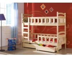 Детская кровать из березы Анжелика