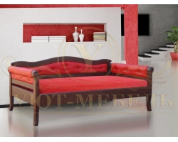 Кровать из массива сосны Капри