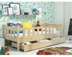 Детская кровать из дуба Милана